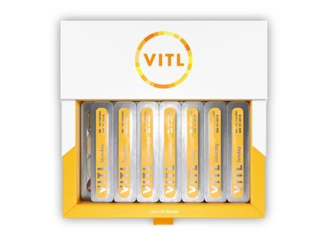 Open box of VITL essentials