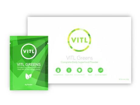 14 sachets of VITL Greens superfood sachets