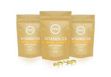 VITL Vitamin D3 Pouches
