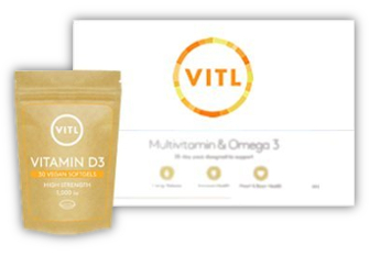 VITL Essentials 2 pack with single pouch